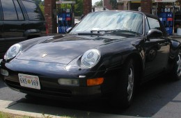 The 1998 Porsche 911 (993 series) Carrera Cabriolet