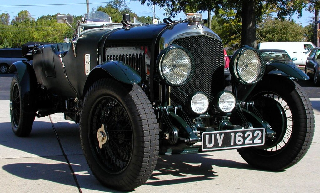 The 1929 Bentley 4.5 Litre 4 seater Tourer