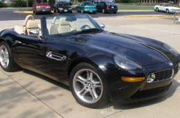 The 2003 BMW Z8: 4.9L, 400bhp BMW Motorsport V8
