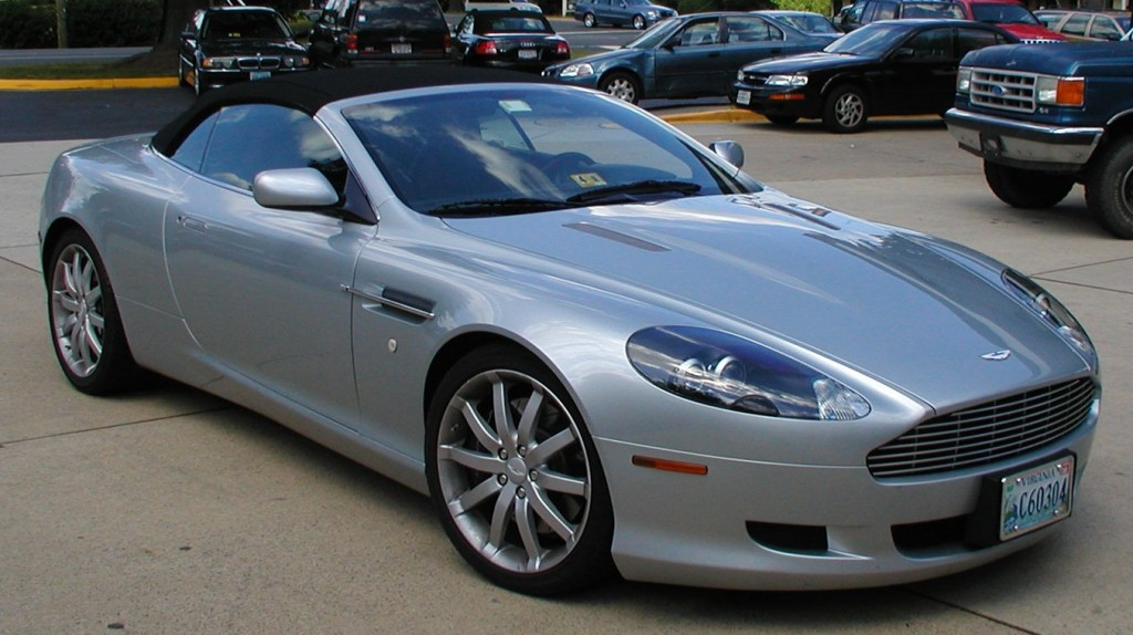2006 Aston Martin DB9 Volante, 6 speed, 6.0, hand built V12